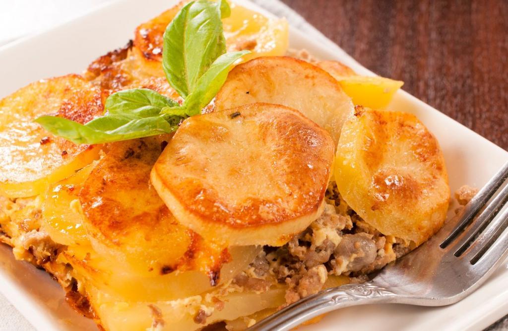 Классический рецепт мясо по-французски с фаршем фото