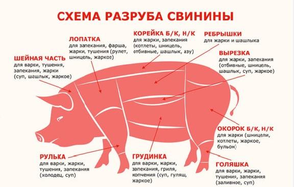 Свинина на фарш фото