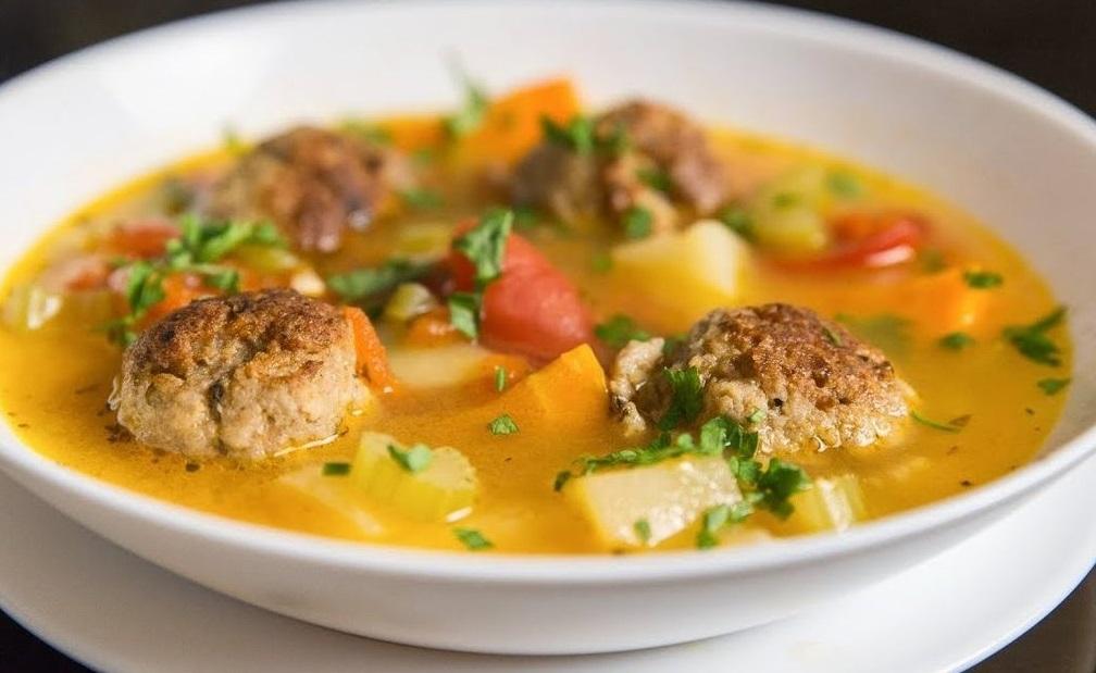 Гороховый суп с фаршем фото
