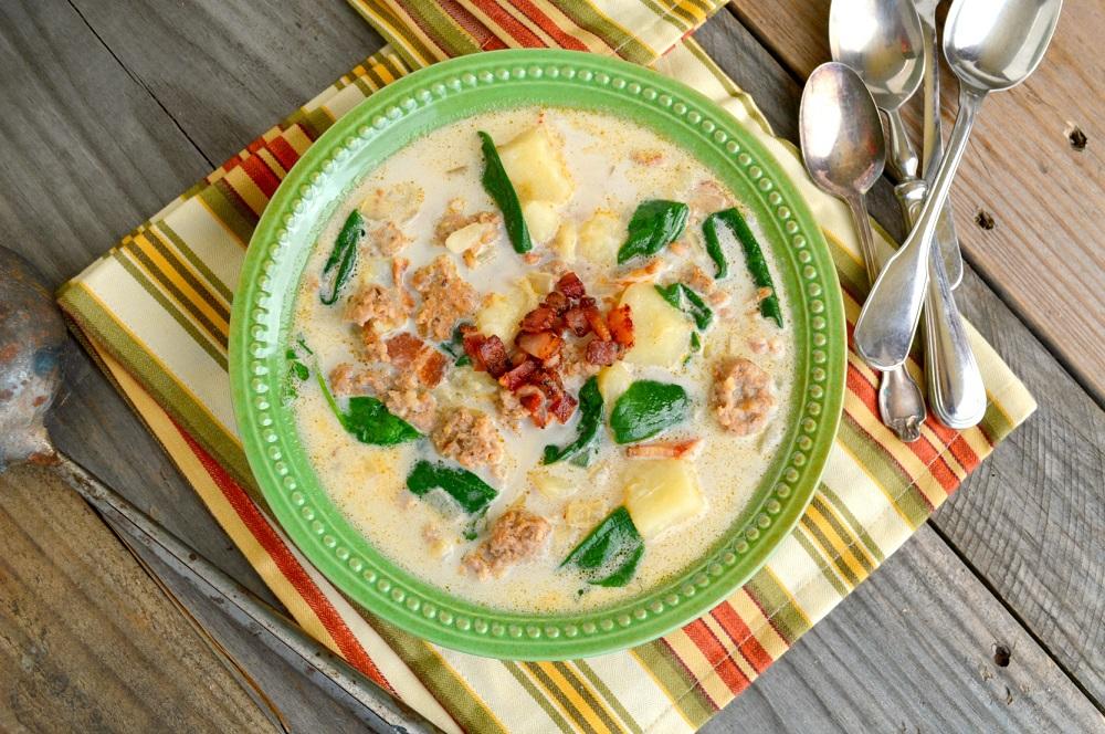 Тосканский суп с фаршем фото